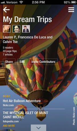 Flipboard-iphone-application