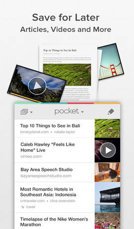 Pocket-iphone-application
