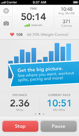 Runkeeper-iphone-application
